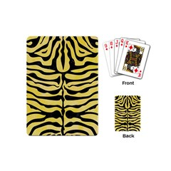 Skin2 Black Marble & Yellow Watercolor Playing Cards (mini)