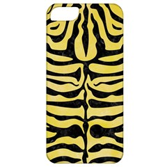 Skin2 Black Marble & Yellow Watercolor Apple Iphone 5 Classic Hardshell Case