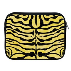 Skin2 Black Marble & Yellow Watercolor Apple Ipad 2/3/4 Zipper Cases