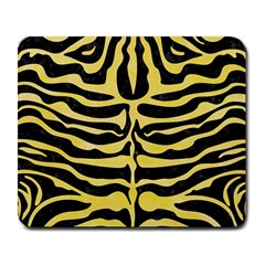 Skin2 Black Marble & Yellow Watercolor (r) Large Mousepads