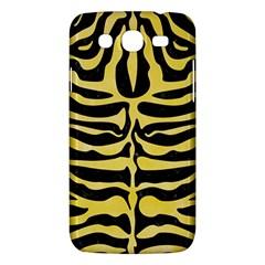 Skin2 Black Marble & Yellow Watercolor (r) Samsung Galaxy Mega 5 8 I9152 Hardshell Case