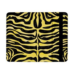 Skin2 Black Marble & Yellow Watercolor (r) Samsung Galaxy Tab Pro 8 4  Flip Case