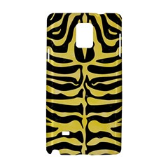 Skin2 Black Marble & Yellow Watercolor (r) Samsung Galaxy Note 4 Hardshell Case