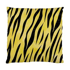 Skin3 Black Marble & Yellow Watercolor Standard Cushion Case (one Side)