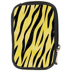 Skin3 Black Marble & Yellow Watercolor Compact Camera Cases