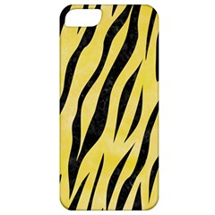 Skin3 Black Marble & Yellow Watercolor Apple Iphone 5 Classic Hardshell Case