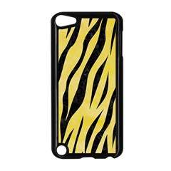 Skin3 Black Marble & Yellow Watercolor Apple Ipod Touch 5 Case (black)
