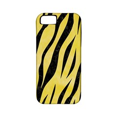 Skin3 Black Marble & Yellow Watercolor Apple Iphone 5 Classic Hardshell Case (pc+silicone)