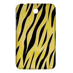 Skin3 Black Marble & Yellow Watercolor Samsung Galaxy Tab 3 (7 ) P3200 Hardshell Case