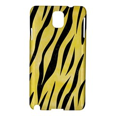 Skin3 Black Marble & Yellow Watercolor Samsung Galaxy Note 3 N9005 Hardshell Case