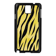 Skin3 Black Marble & Yellow Watercolor Samsung Galaxy Note 3 N9005 Case (black)