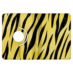 Skin3 Black Marble & Yellow Watercolor Kindle Fire Hdx Flip 360 Case