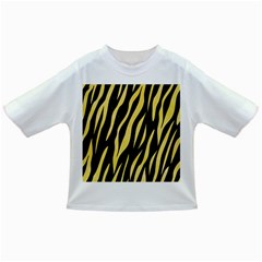 Skin3 Black Marble & Yellow Watercolor (r) Infant/toddler T Shirts