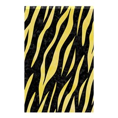 Skin3 Black Marble & Yellow Watercolor (r) Shower Curtain 48  X 72  (small)