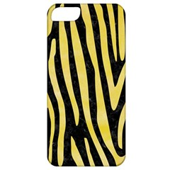 Skin4 Black Marble & Yellow Watercolor Apple Iphone 5 Classic Hardshell Case