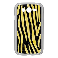 Skin4 Black Marble & Yellow Watercolor Samsung Galaxy Grand Duos I9082 Case (white)
