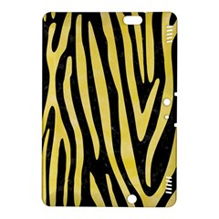 Skin4 Black Marble & Yellow Watercolor Kindle Fire Hdx 8 9  Hardshell Case