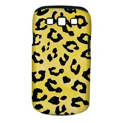 Skin5 Black Marble & Yellow Watercolor (r) Samsung Galaxy S Iii Classic Hardshell Case (pc+silicone)