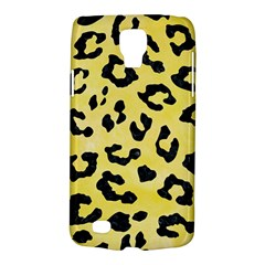 Skin5 Black Marble & Yellow Watercolor (r) Galaxy S4 Active