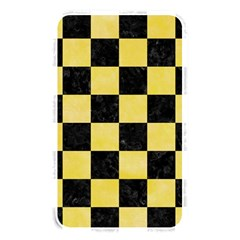Square1 Black Marble & Yellow Watercolor Memory Card Reader