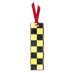 Square1 Black Marble & Yellow Watercolor Small Book Marks