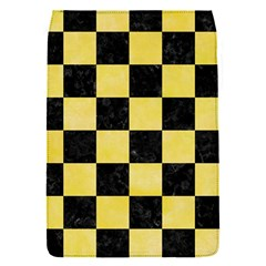 Square1 Black Marble & Yellow Watercolor Flap Covers (s)