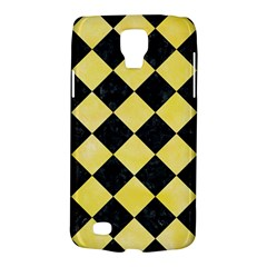 Square2 Black Marble & Yellow Watercolor Galaxy S4 Active