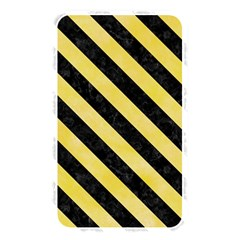Stripes3 Black Marble & Yellow Watercolor Memory Card Reader