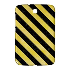 Stripes3 Black Marble & Yellow Watercolor Samsung Galaxy Note 8 0 N5100 Hardshell Case