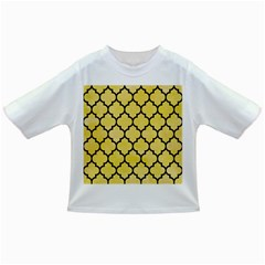Tile1 Black Marble & Yellow Watercolor Infant/toddler T Shirts