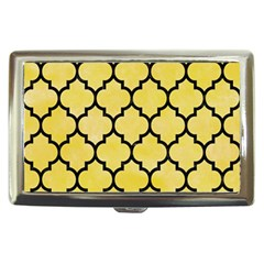 Tile1 Black Marble & Yellow Watercolor Cigarette Money Cases