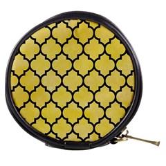 Tile1 Black Marble & Yellow Watercolor Mini Makeup Bags