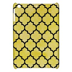 Tile1 Black Marble & Yellow Watercolor Apple Ipad Mini Hardshell Case