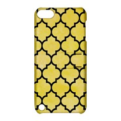 Tile1 Black Marble & Yellow Watercolor Apple Ipod Touch 5 Hardshell Case With Stand