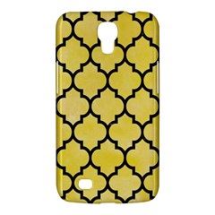 Tile1 Black Marble & Yellow Watercolor Samsung Galaxy Mega 6 3  I9200 Hardshell Case