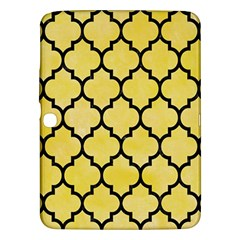 Tile1 Black Marble & Yellow Watercolor Samsung Galaxy Tab 3 (10 1 ) P5200 Hardshell Case