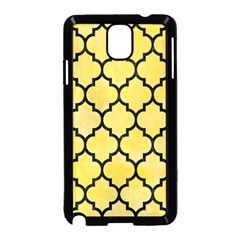 Tile1 Black Marble & Yellow Watercolor Samsung Galaxy Note 3 Neo Hardshell Case (black)