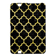 Tile1 Black Marble & Yellow Watercolor (r) Kindle Fire Hd 8 9
