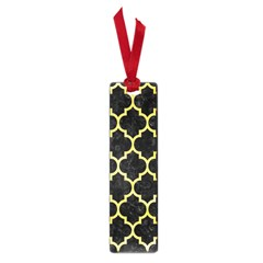 Tile1 Black Marble & Yellow Watercolor (r) Small Book Marks