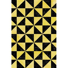 Triangle1 Black Marble & Yellow Watercolor 5 5  X 8 5  Notebooks