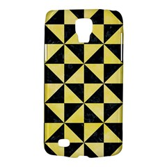 Triangle1 Black Marble & Yellow Watercolor Galaxy S4 Active