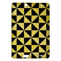 Triangle1 Black Marble & Yellow Watercolor Amazon Kindle Fire Hd (2013) Hardshell Case