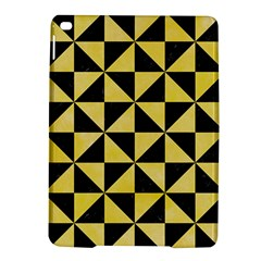 Triangle1 Black Marble & Yellow Watercolor Ipad Air 2 Hardshell Cases