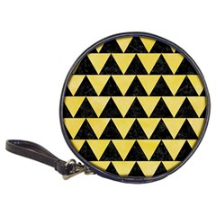 Triangle2 Black Marble & Yellow Watercolor Classic 20 Cd Wallets