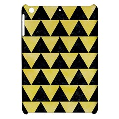 Triangle2 Black Marble & Yellow Watercolor Apple Ipad Mini Hardshell Case