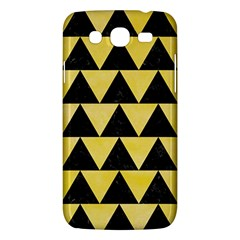 Triangle2 Black Marble & Yellow Watercolor Samsung Galaxy Mega 5 8 I9152 Hardshell Case