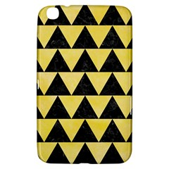 Triangle2 Black Marble & Yellow Watercolor Samsung Galaxy Tab 3 (8 ) T3100 Hardshell Case