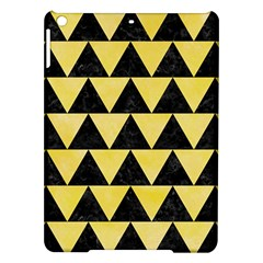 Triangle2 Black Marble & Yellow Watercolor Ipad Air Hardshell Cases