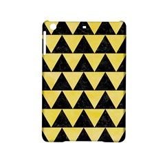 Triangle2 Black Marble & Yellow Watercolor Ipad Mini 2 Hardshell Cases