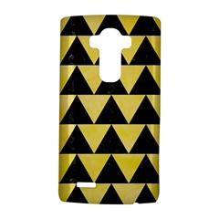 Triangle2 Black Marble & Yellow Watercolor Lg G4 Hardshell Case